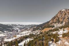 Oberjoch in winter Stock Photos