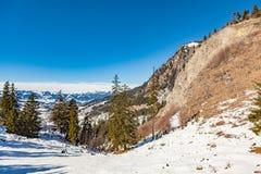 Oberjoch in winter Royalty Free Stock Image