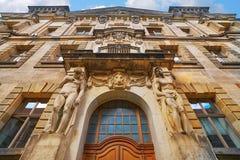 Oberlandesgericht-Gebäudetür Dresden Deutschland Stockfotos