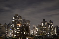 Oberleder-Ostseite von einer Terrasse Stockfotografie