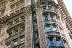 Oberleder-Ostseiten-Gebäude Lizenzfreie Stockfotografie