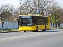 Oberleitungsbus Lizenzfreie Stockfotos