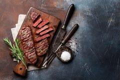 Obermesser oder Denver-Steak lizenzfreies stockbild