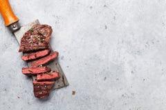 Obermesser oder Denver-Steak lizenzfreie stockbilder