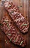 Obermesser oder Denver-Steak stockfoto