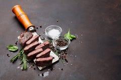 Obermesser oder Denver-Steak stockfotos