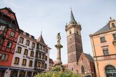 Obernai, Alsace, France Stock Photography