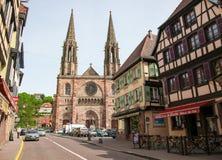 Obernai, Alsace, France Stock Photos
