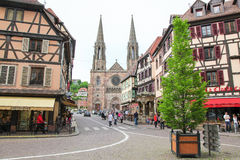 Obernai, Alsace, France Stock Images