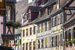 Obernai (Alsace) - Houses Royalty Free Stock Images