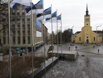 Oberoende dag av Estland Arkivbild