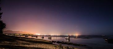 Oberoi na noite Imagens de Stock