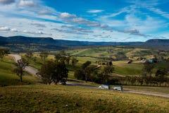 Oberon, nsw central Australia de las altiplanicies Foto de archivo libre de regalías