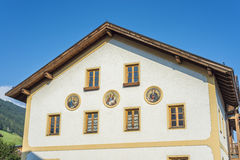 Oberperfuss village near Innsbruck, Austria. Stock Photography