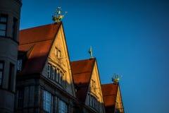 Oberpollinger-Haus in München, Deutschland Lizenzfreie Stockfotos