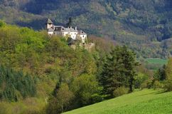 Oberranna castle Royalty Free Stock Photos