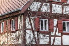 Oberregenbach in Hohenlohe Royalty Free Stock Images