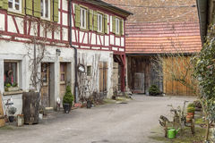 Oberregenbach in Hohenlohe Royalty Free Stock Photography