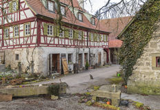 Oberregenbach in Hohenlohe Royalty Free Stock Image