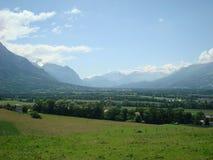Oberrhein-Tal - Liechtenstein Lizenzfreie Stockbilder