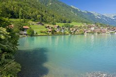 Oberried shoreline, switzerland Royalty Free Stock Photos