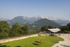 Obersalzberg vicino a Berchtesgaden in Germania, 2015 Immagine Stock