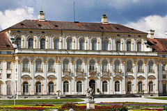 Oberschleissheim, Germany  -  New Schleissheim palace, Italian g Royalty Free Stock Photos