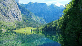 Obersee Bavaria Germany Royalty Free Stock Photo