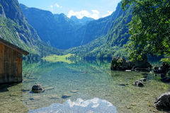 Obersee Bavaria Germany Stock Image