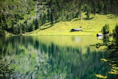 Obersee Bavaria Germany Royalty Free Stock Images