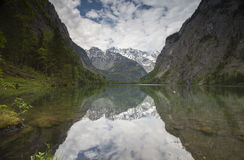 Obersee. In Bavarian Alps, Germany Royalty Free Stock Photos