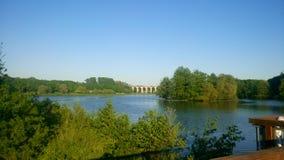 Obersee in Bielefeld Lizenzfreie Stockbilder