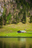 Obersee lake. Bavaria, Germany Royalty Free Stock Images