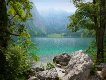 Obersee lake, Berchtesgaden, Germany Stock Image