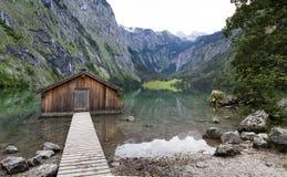 Obersee lake Stock Photo