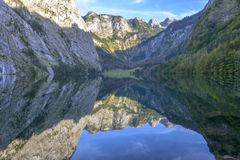 Obersee Landscape, Bavarian Scenery Stock Image