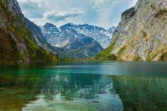Obersee - mountain lake, Germany Stock Images