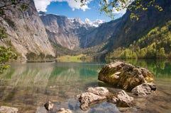 Obersee sjö, Tyskland Arkivfoto