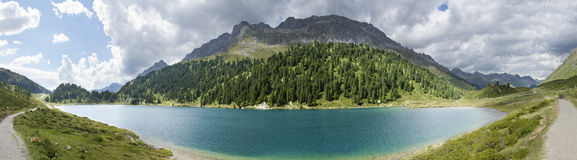 Obersee, Staller Sattel, Austria Royalty Free Stock Photos
