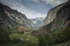 Obersee & Watzmann Royalty Free Stock Image