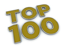 Oberseite 100 Lizenzfreie Stockbilder
