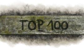 Oberseite 100 Stockfotografie
