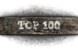 Oberseite 100 Lizenzfreies Stockbild