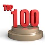 Oberseite 100 Lizenzfreie Stockfotos