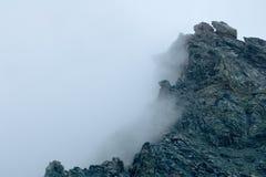 Oberseite in den Wolken Lizenzfreie Stockbilder