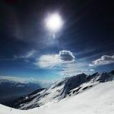 Oberseite der Berge Lizenzfreie Stockbilder