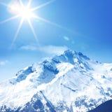 Oberseite der Berge Lizenzfreie Stockfotos