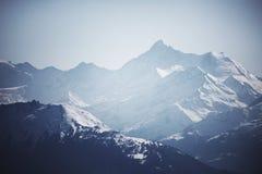 Oberseite der Berge Stockbild