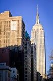 Oberseite der Empire State Building Lizenzfreies Stockbild