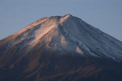Oberseite der Montierung Fuji. Lizenzfreie Stockbilder